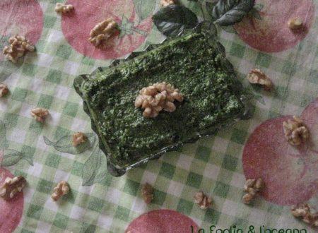Pesto alla genovese – Tradizionale e vegan