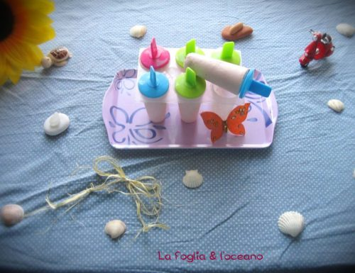 Gelati al pompelmo rosa e yogurt