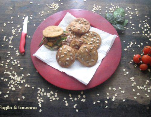 Scones salati alla zucca con farina di castagne