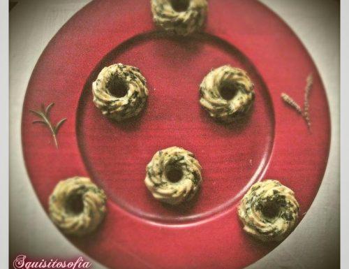 Ciambelline salate con ricotta infornata dei Nebrodi e spinaci