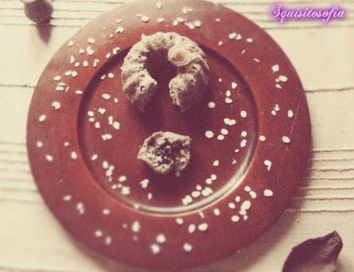 Ciambelline speziate con fiocchi d'avena e miele al timo