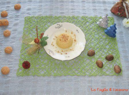 Flan di zucca con caramello al miele di melata