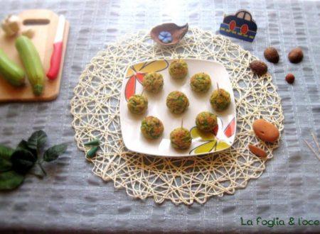 Crocchette di zucchine e stracchino