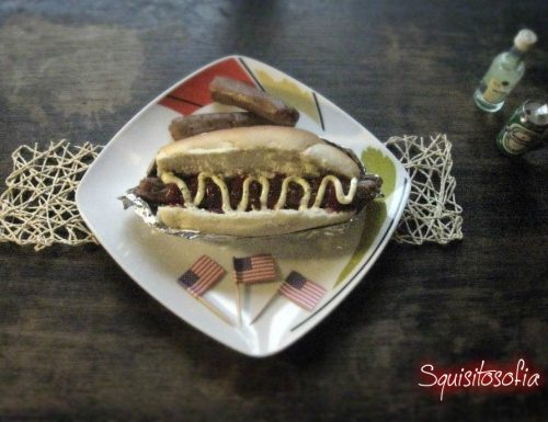 Vegan Hot Dog homemade
