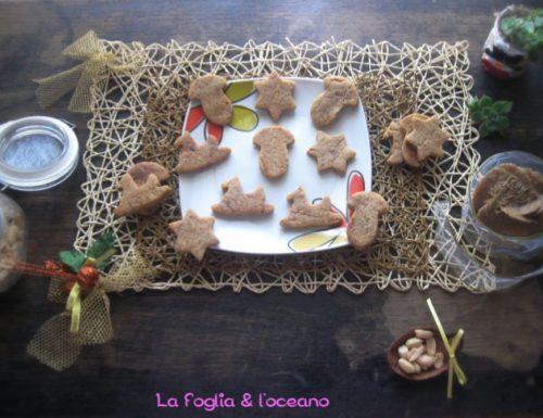 Biscottini natalizi (senza glutine) al burro d'arachidi