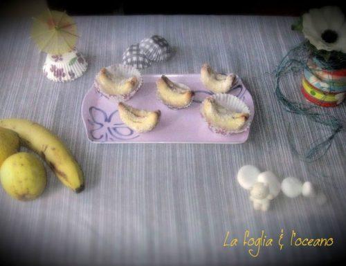 Le  bananine – biscotti abruzzesi con crema di nocciole