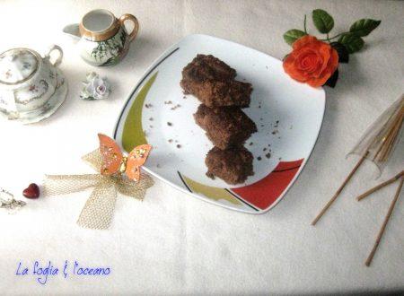 Vegan brownie lava pudding