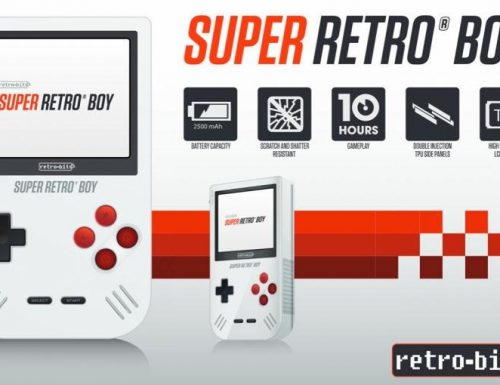 Per i nostalgici del Game Boy, arriva la console Super Retro Boy