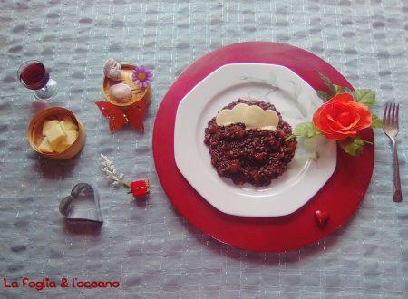 Il risotto al cioccolato di Dino De Bellis