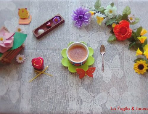 Petits Pots au chocolat blanc