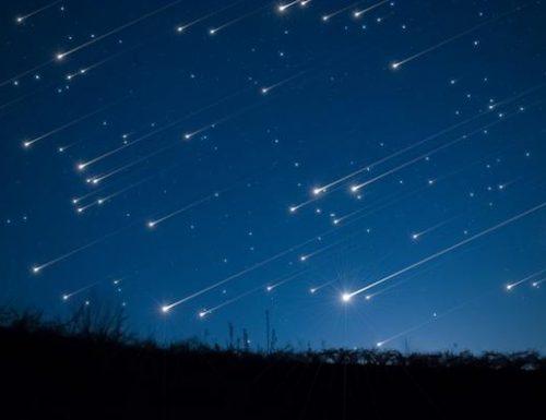 In arrivo una pioggia di stelle cadenti