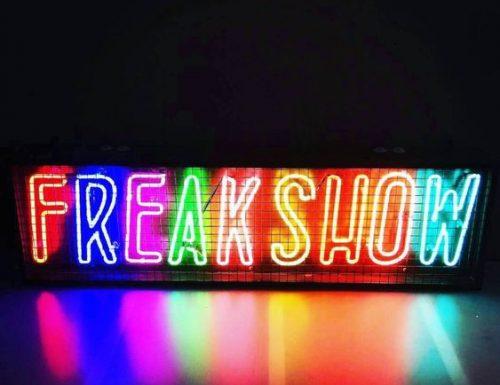 L'intrattenimento ai tempi del Freak show
